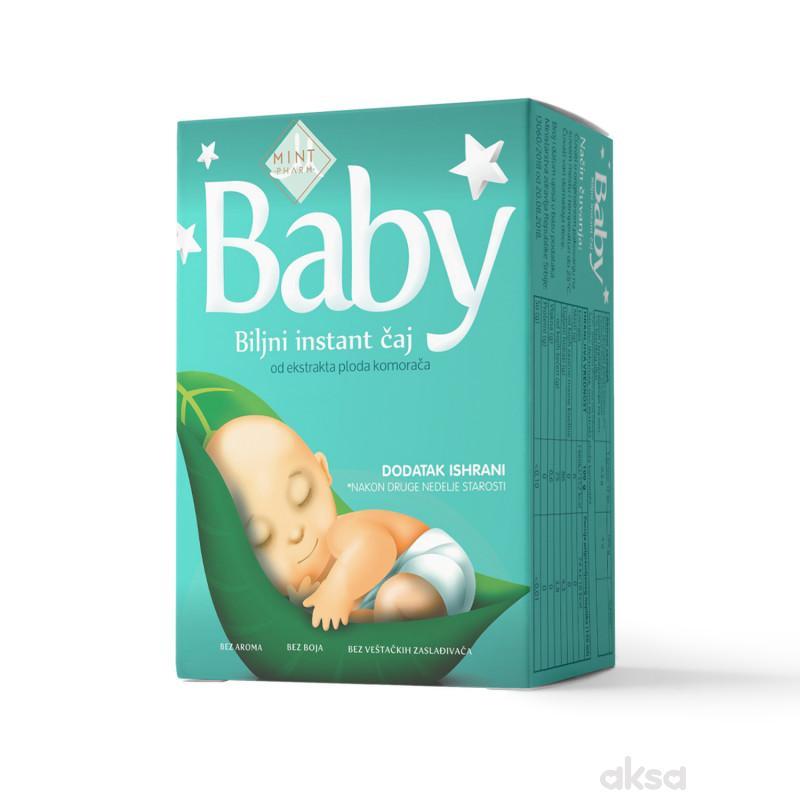 Mintmedic baby instant biljni čaj 5x5g