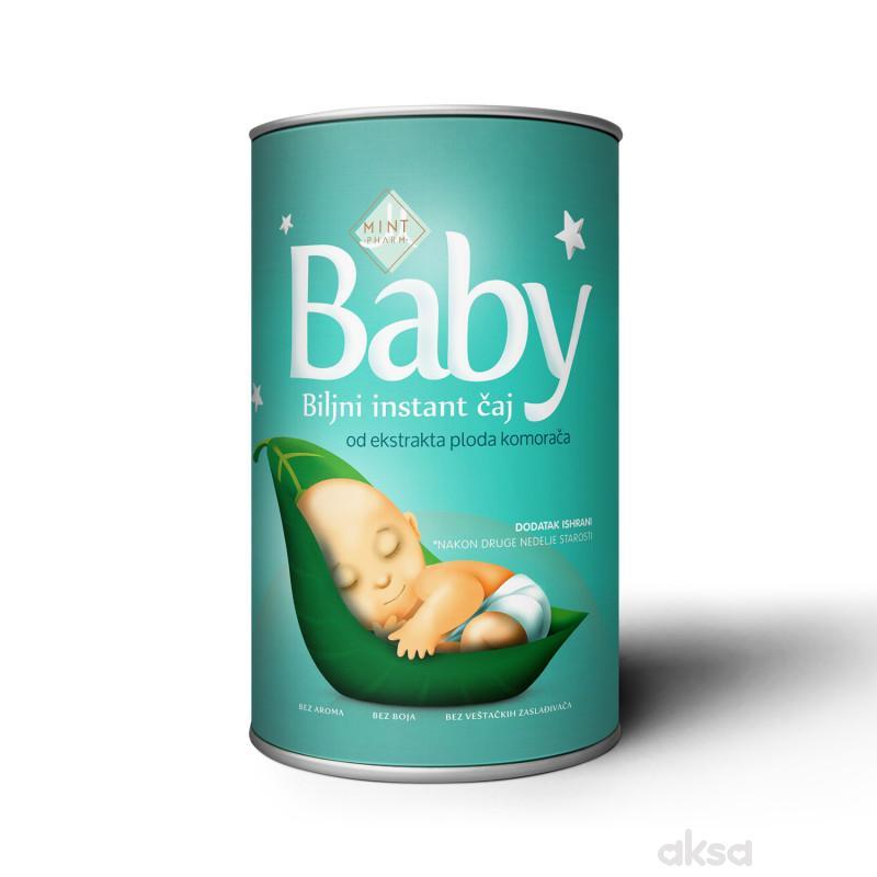 Mintmedic baby instant biljni čaj doza 150g