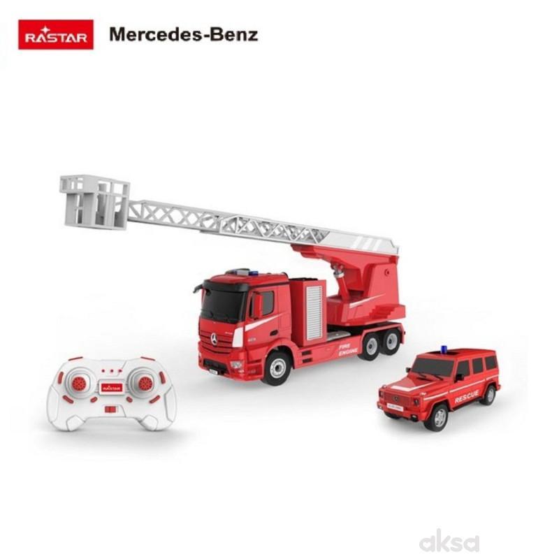 Rastar vatrogasni kamion Mercedes-Benz 1:24