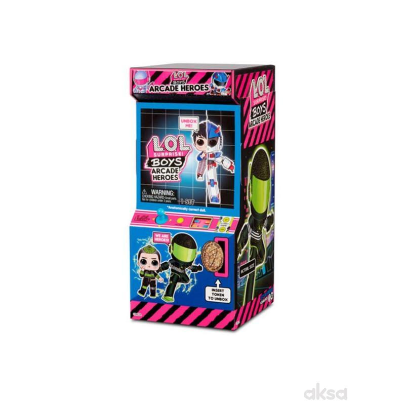 LOL Surprise Boys arcade heroes