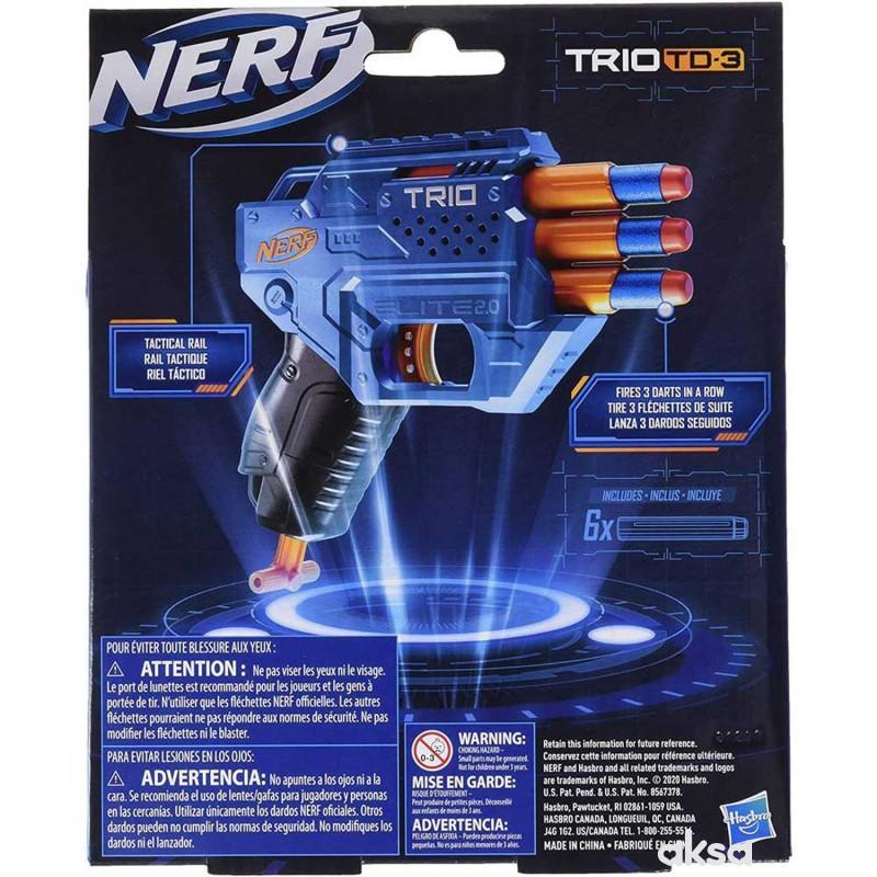 Nerf Elite Trio blaster