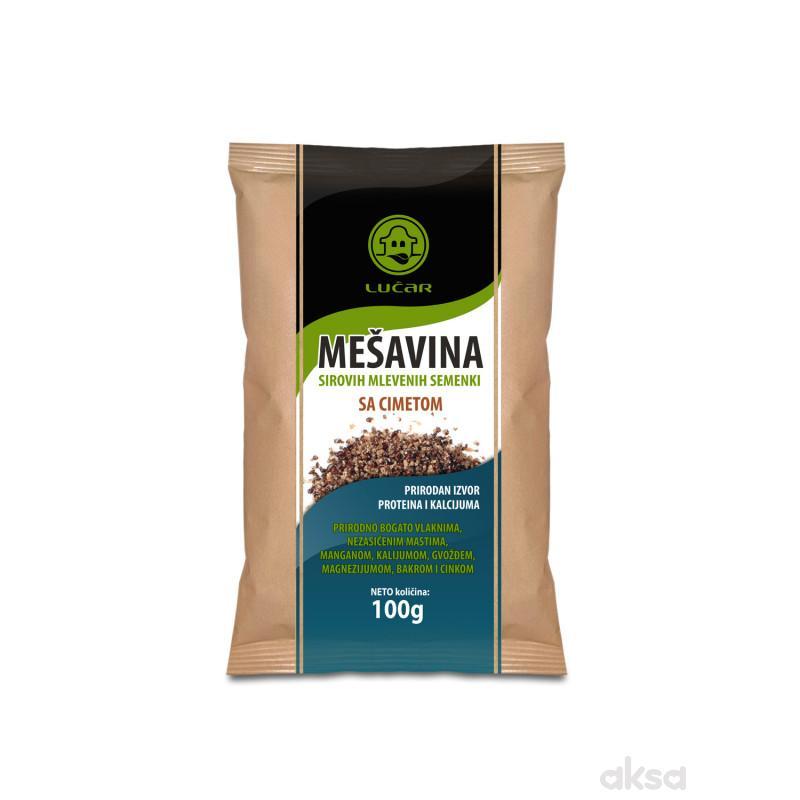 Lučar mešavina sirovih ml.semenki sa cimetom 100g