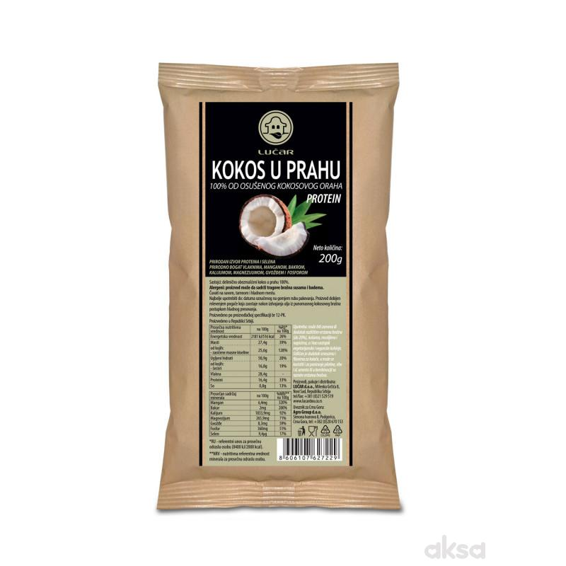 Lučar kokos u prahu – protein 200g