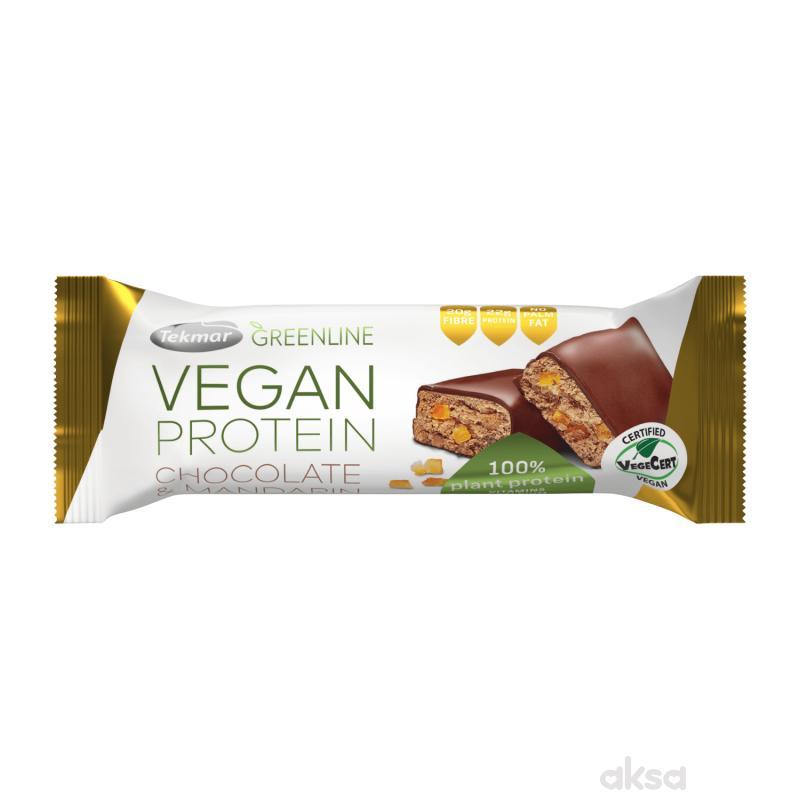 Tekmar vegan protein čoko mandarina 40g