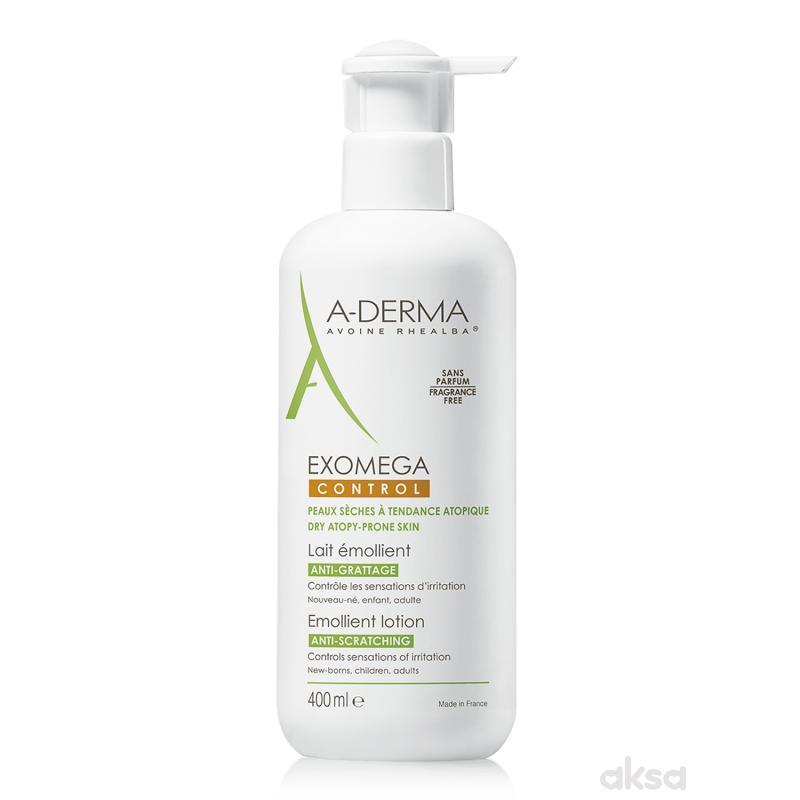 A-derma Exomega Control mleko 400 ml