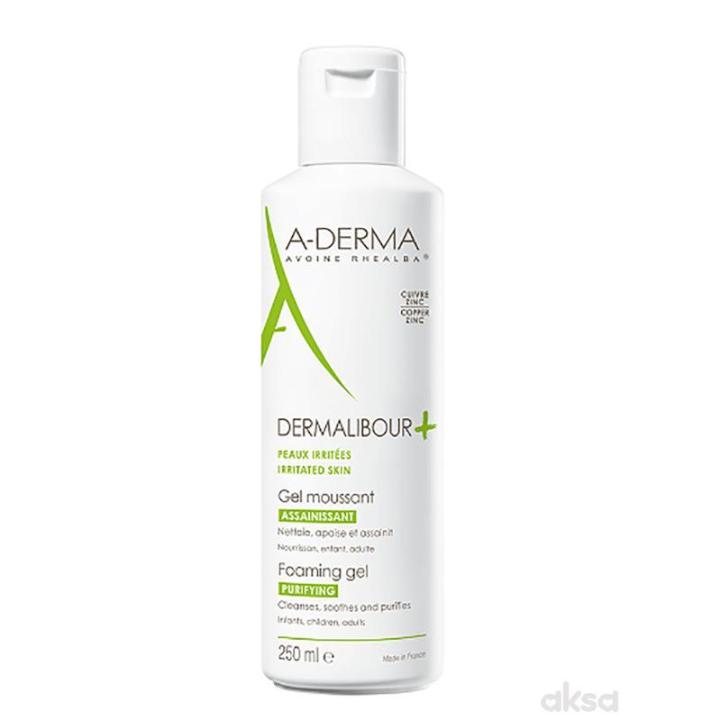 A-Derma Dermalibour Cica+penušavi gel 250ml