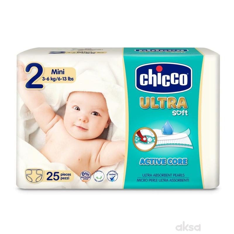 Chicco pelene ULTRA mini 25X10 3-6kg,25kom