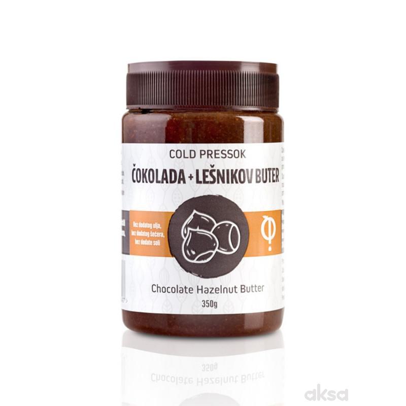 Cold pressok čokolada lešnik buter 350g