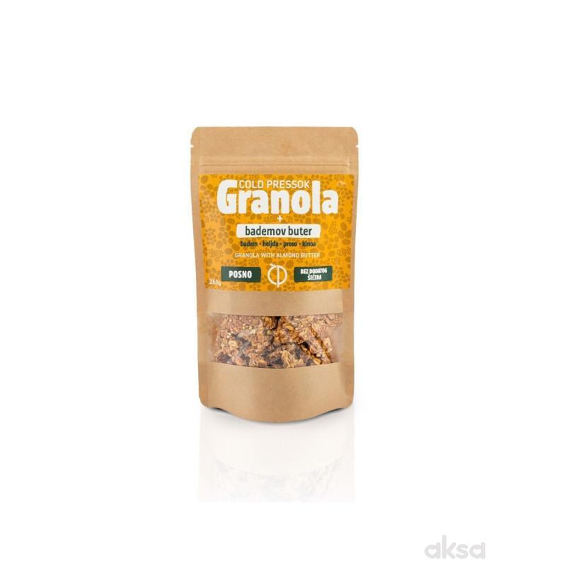 Cold pressok granola badem 260g