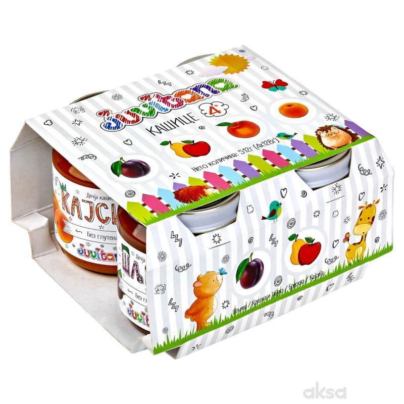 Juvitana multipak voćne kašice 512 gr