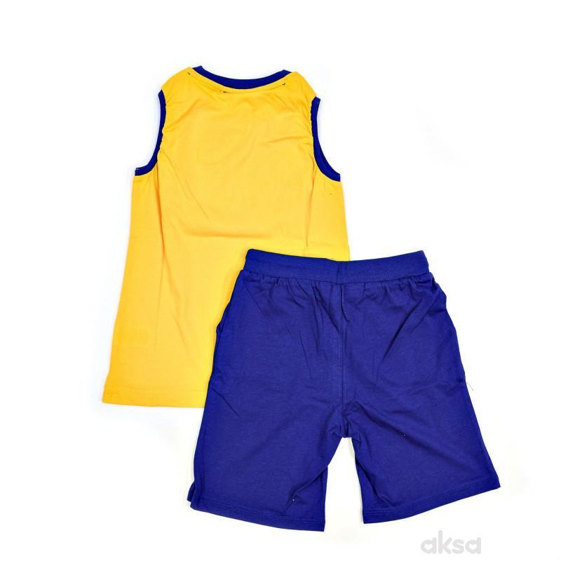 Lillo&Pippo komplet (majica atlet, bermude),dečaci