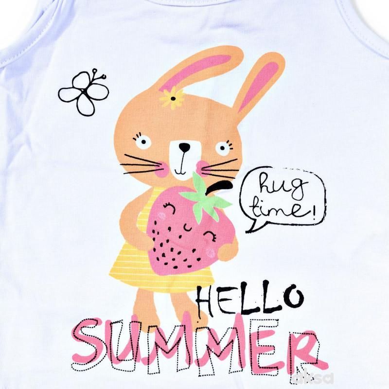 Lillo&Pippo komplet(majica atlet,suknja),devojčice