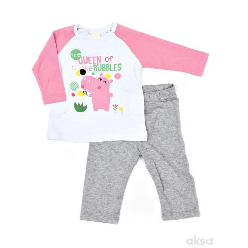 Lillo&Pippo pidžama dr, devojčice
