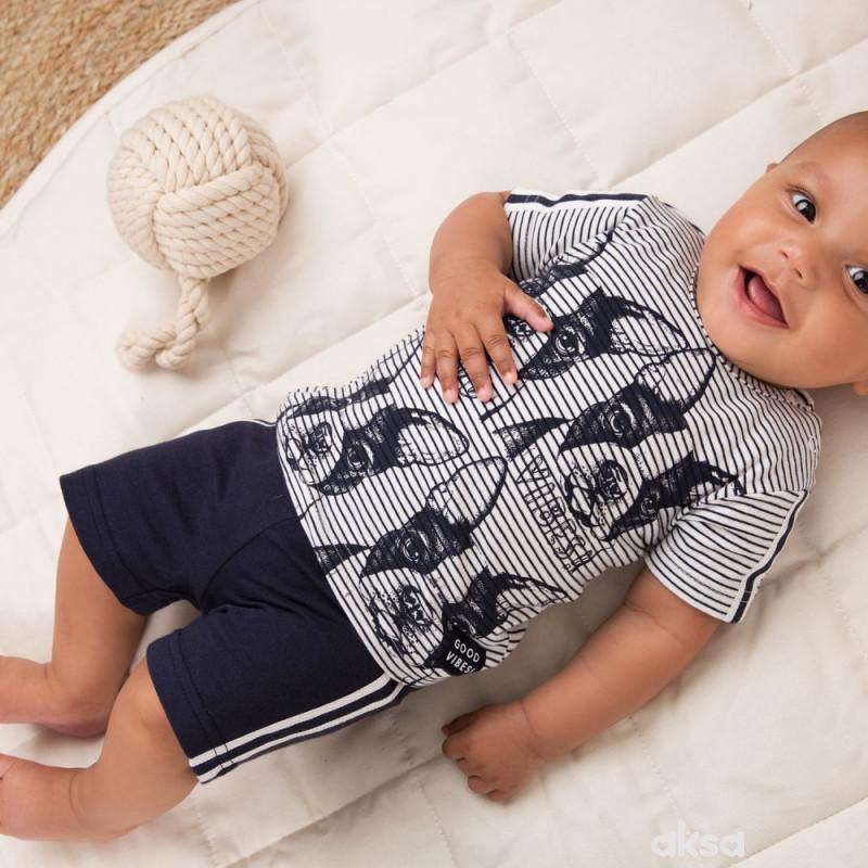 Dirkje komplet (majica kr, šorts), dečaci