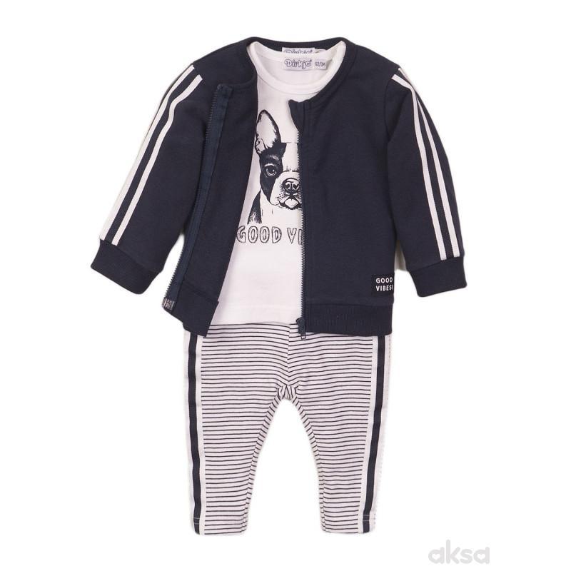 Dirkje komplet (duks jakna,majica kr,d.deo),dečaci