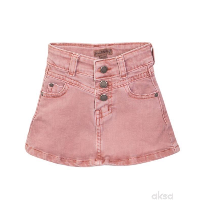 Dirkje teksas suknja, devojčice