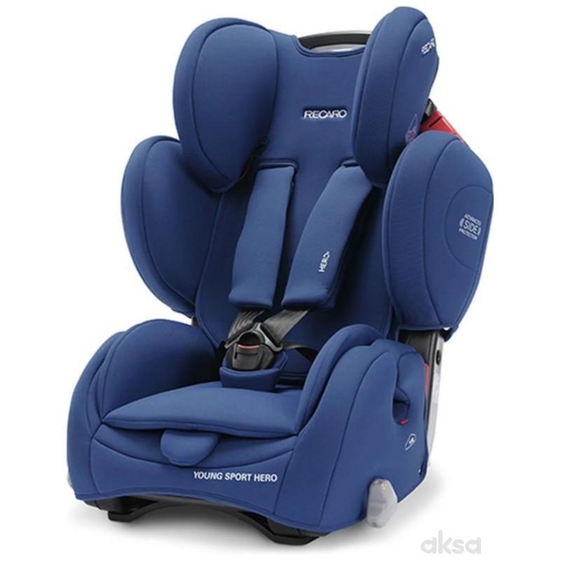 Recaro a-s 1/2/3(9-36kg)YoungSportHero,energy blue