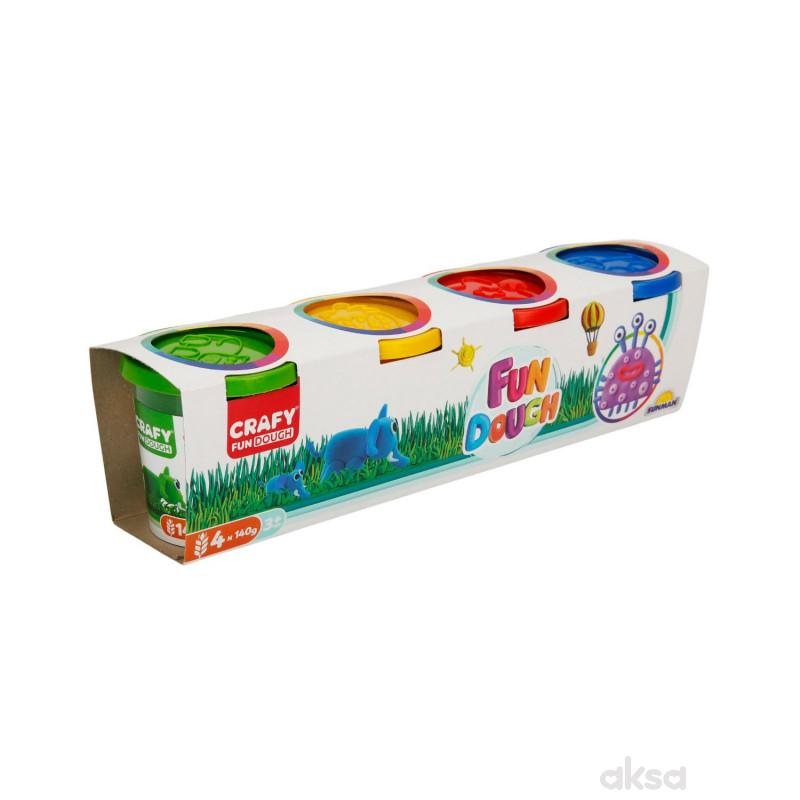 Sunman pakovanje 4 kom560 gr. (4 boje x 140 gr.)