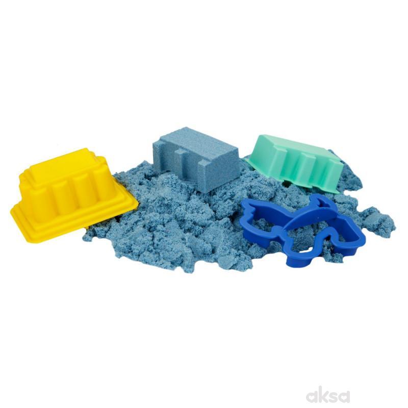 Sunman kinetički pesak 500 gr. plava boja