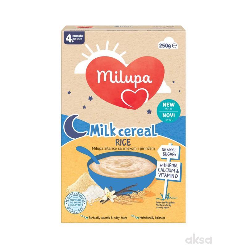 Milupa mlečna instant kaša pirinač 250g