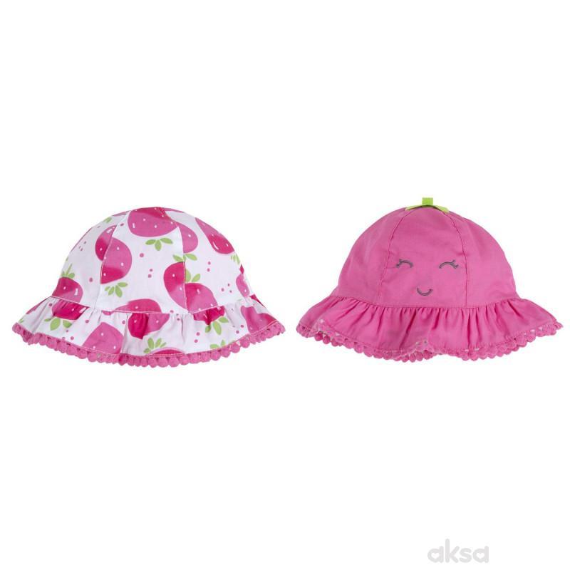 Chicco šešir sa 2 lica, devojčice