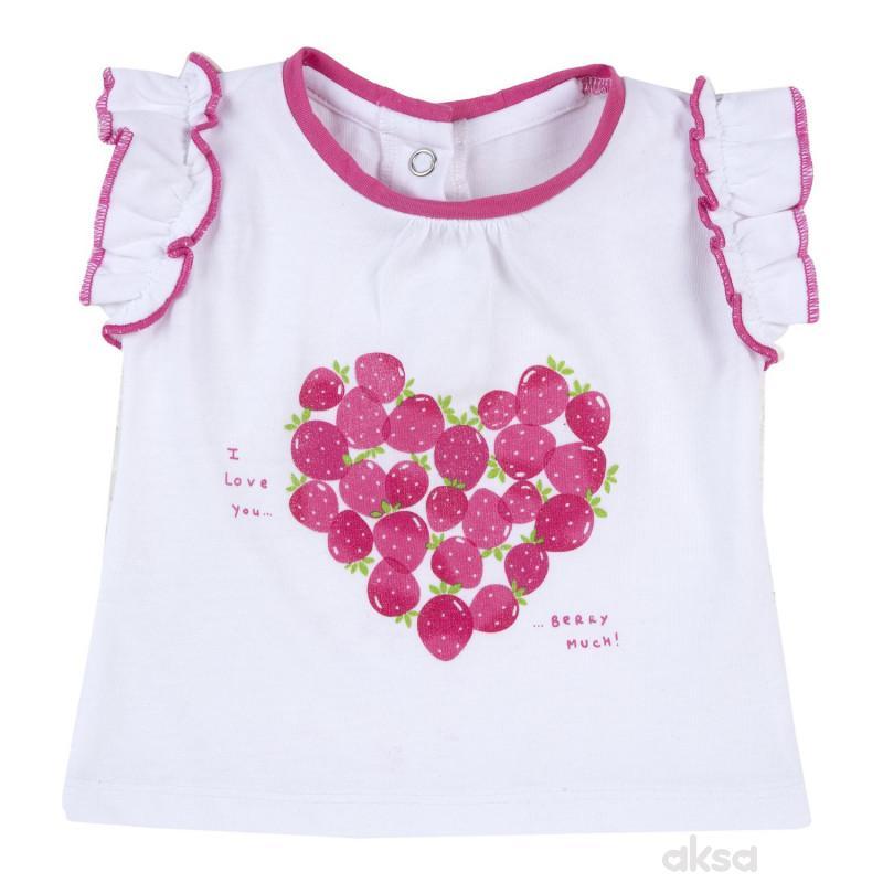 Chicco majica kr, devojčice