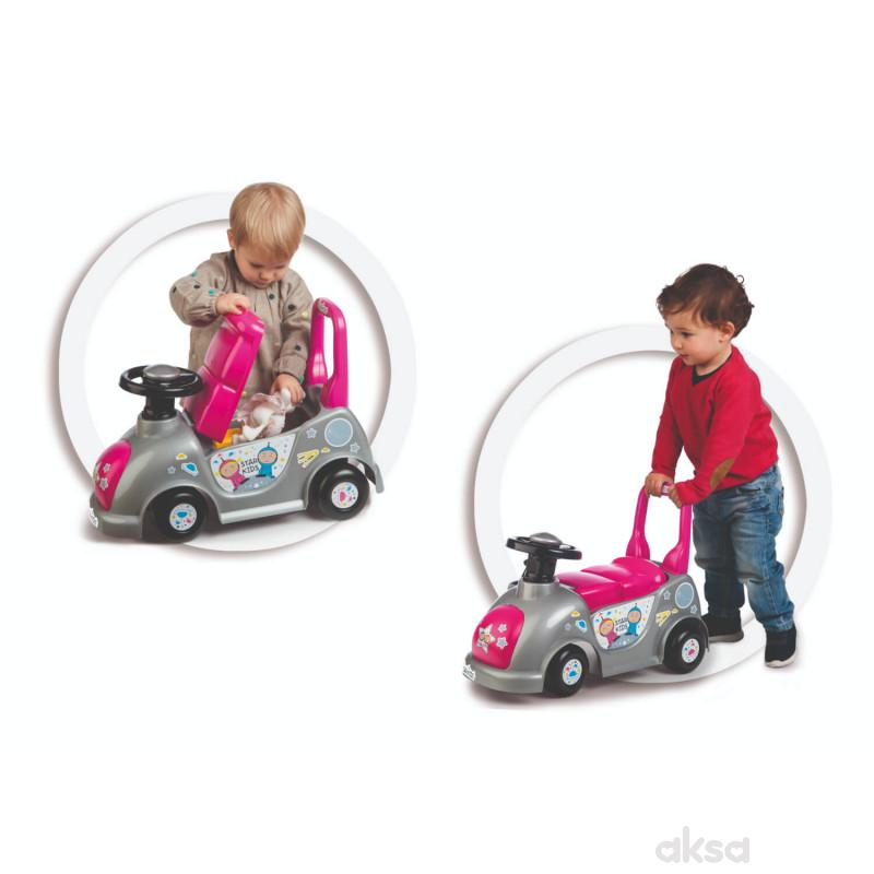 Educa guralica auto, roze
