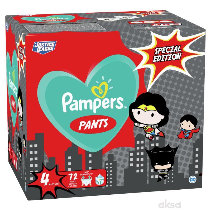 Pampers pants pelene Warner Bross 4 maxi 72 kom