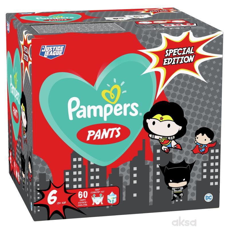 Pampers pants pelene Warner Bross 6 large 60 kom