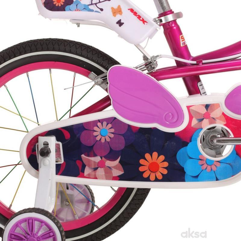 Bicikl devojcice MAX PINKY 12