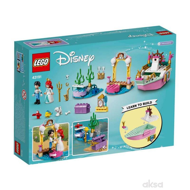 Lego Disney princess Ariels celebration boat