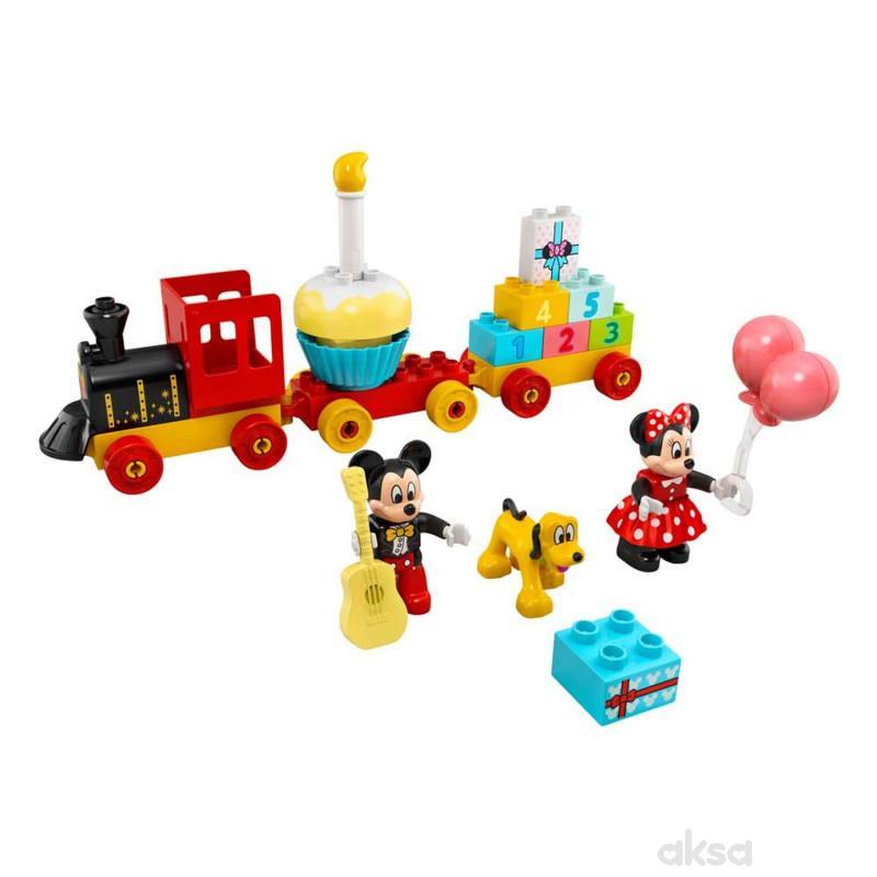 Lego Duplo Disney TM Mickey&Minnie birthday train