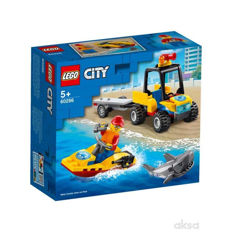 Lego City beach rescue atv