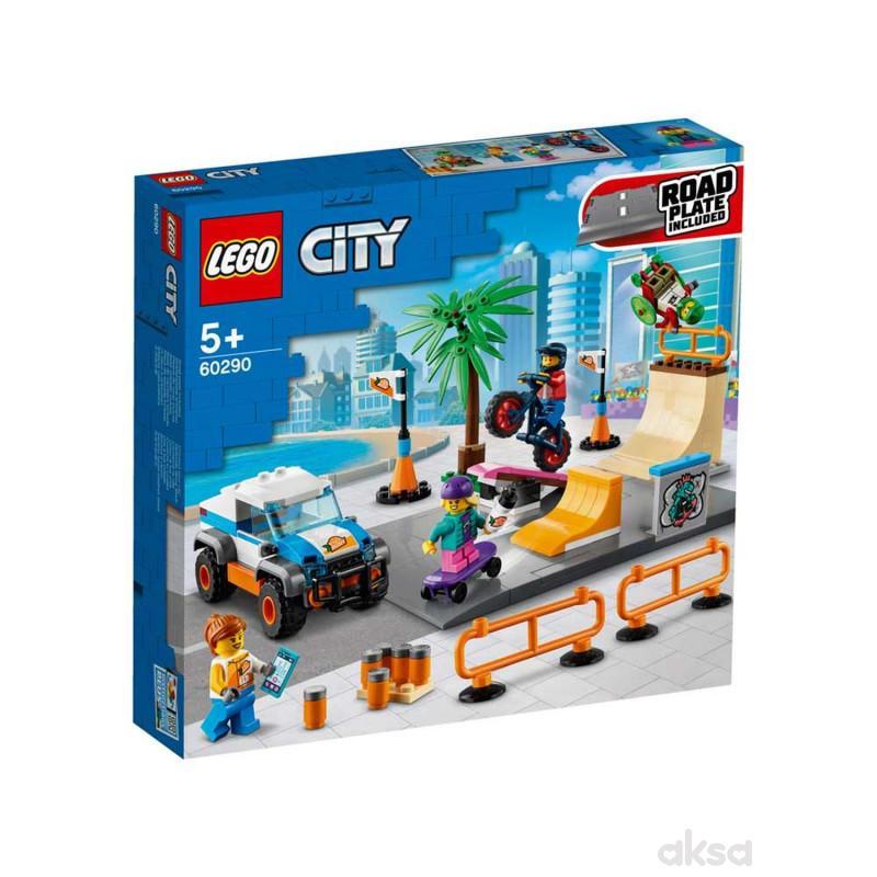Lego City skate park