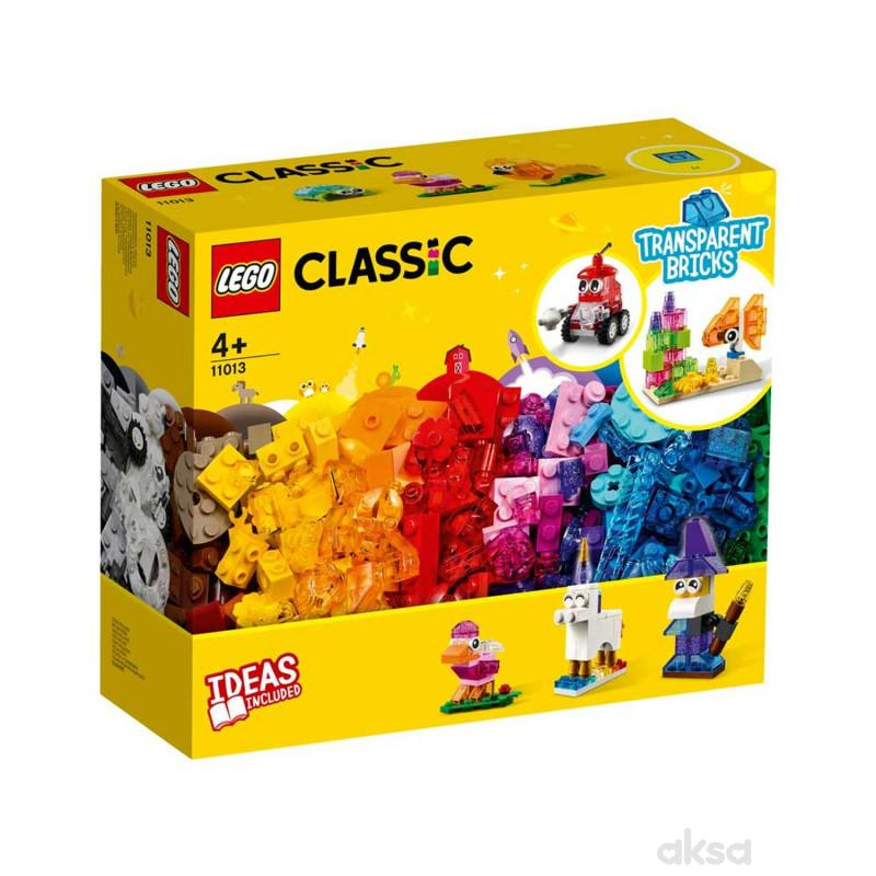 Lego Classic creative transparent bricks