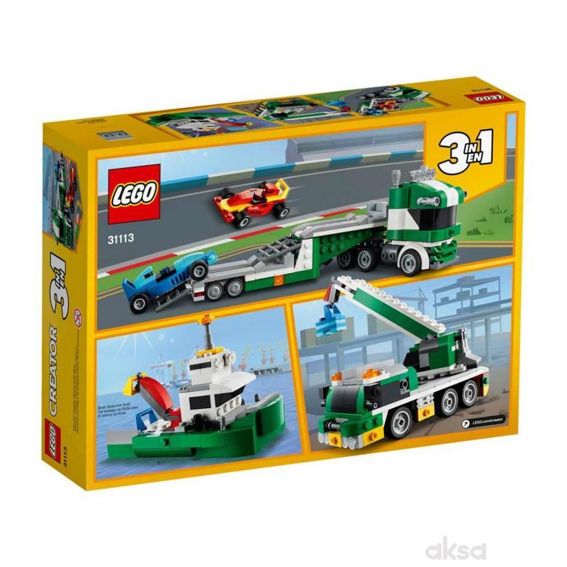 Lego Creator race car transporter
