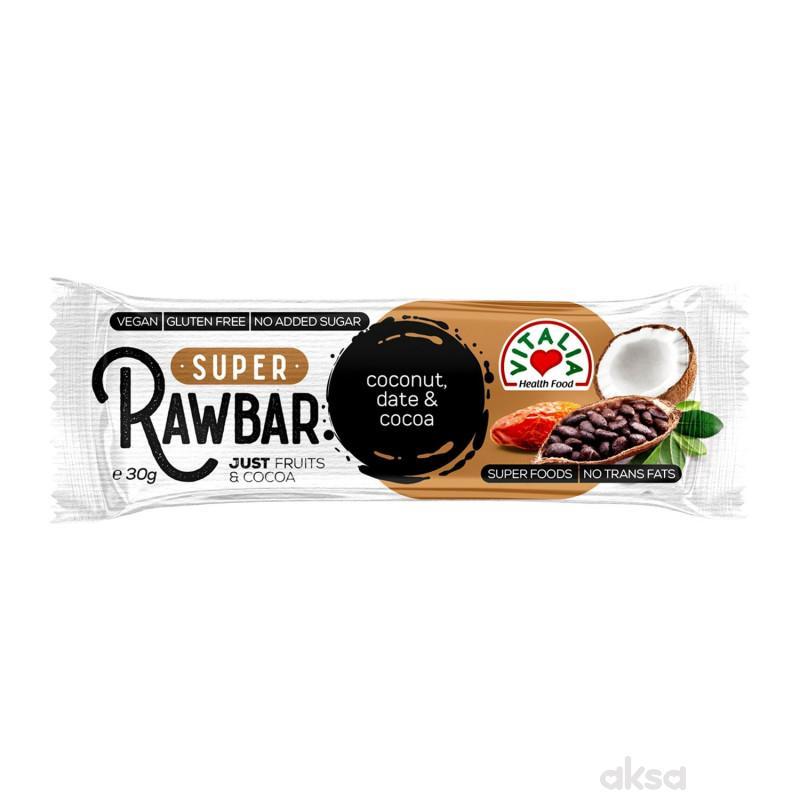 Vitalia Raw bar kokos&čokolada 30g