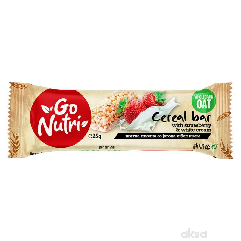 Vitalia Go nutri bar jagoda i beli krem 25g