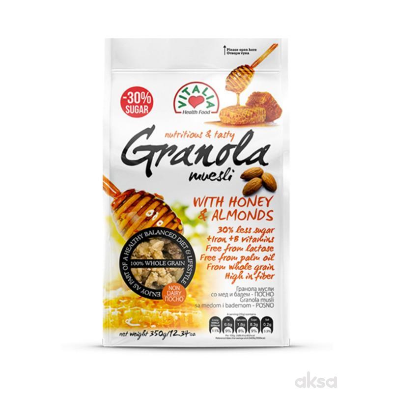 Vitalia Granola musli med&bad+Mg+Fe+B 350g