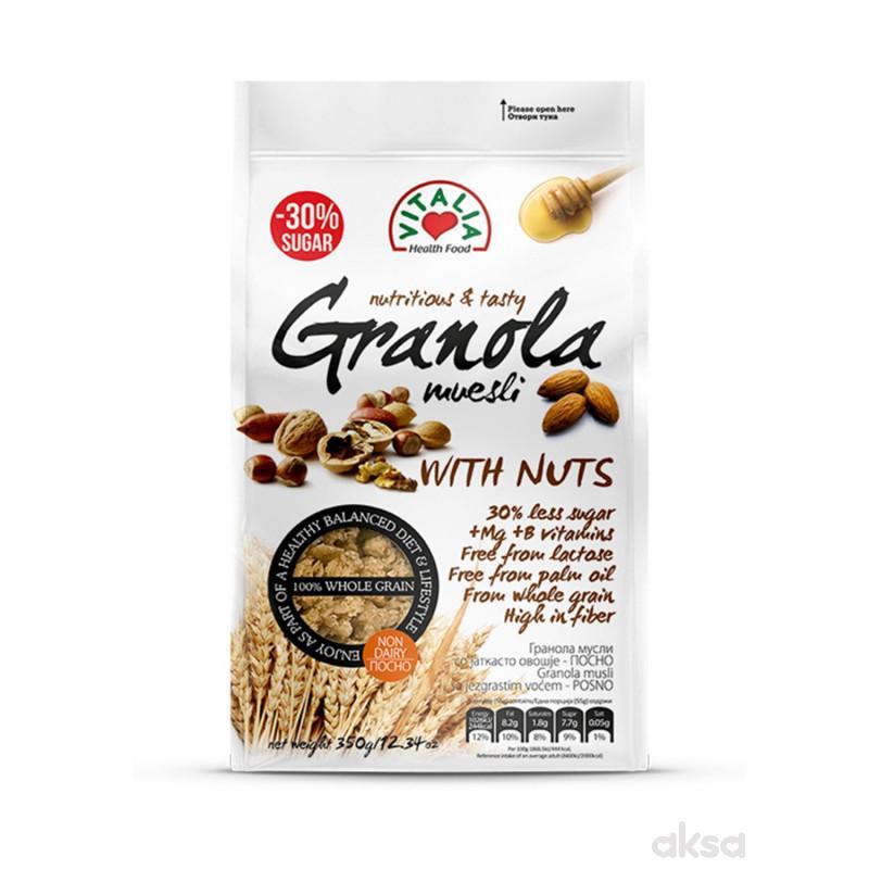 Vitalia Granola musli orasi+Mg&Fe&B 350g