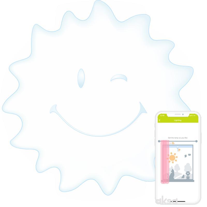 Agu Baby Lampa sa prirodnom svetlošću smart Sunny