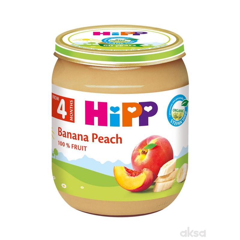 Hipp kašica banana i breskva 125g