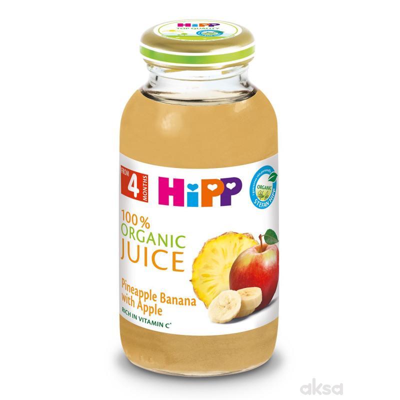 Hipp voćni sok ananas i banana sa jabukom 200ml