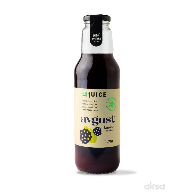 NO1 JUICE Avgust mix 0,75l (40% kup,  60%jab)