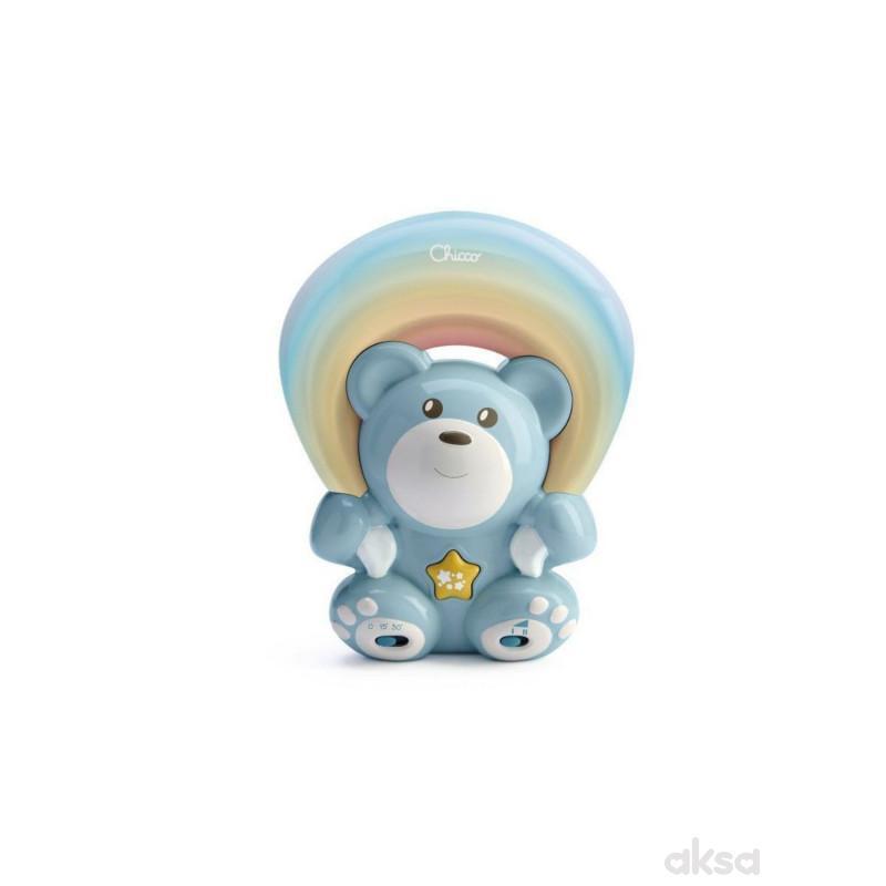 Chicco projektor meda u duginim bojama, plavi