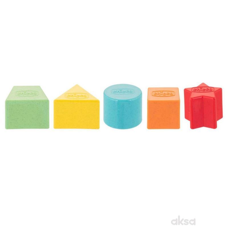 Chicco igračka Eco kupovi za slaganje