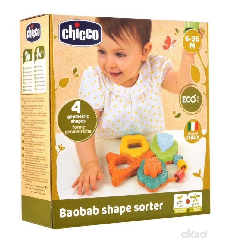 Chicco igračka Eco umetaljka u obliku drveta