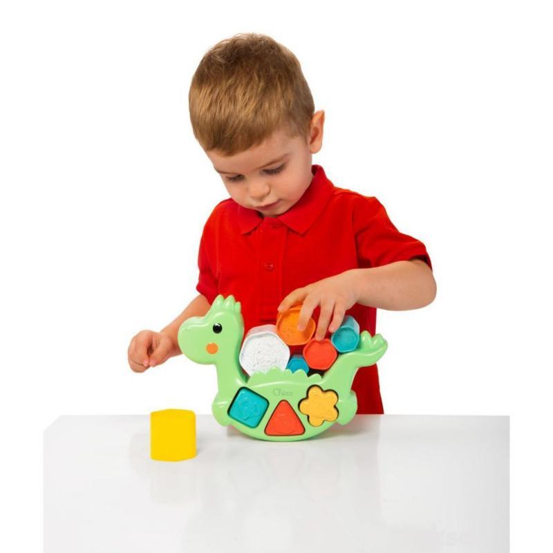 Chicco igračka Eco umetaljka Dino