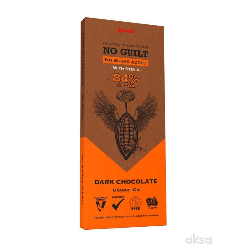 KANDIT No Guilt DARK no sugar added 80g