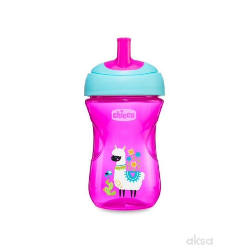Chicco Advanced čaša 12m+, roze